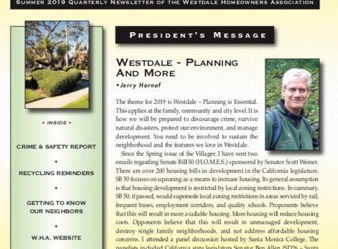 The Villager – Westdale Homeowners Association